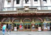 Prince Edward Theatre London