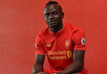 Sadio Mane to Liverpool