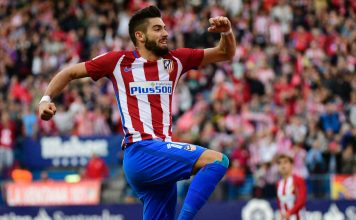 Yannick Carrasco Atletico Madrid
