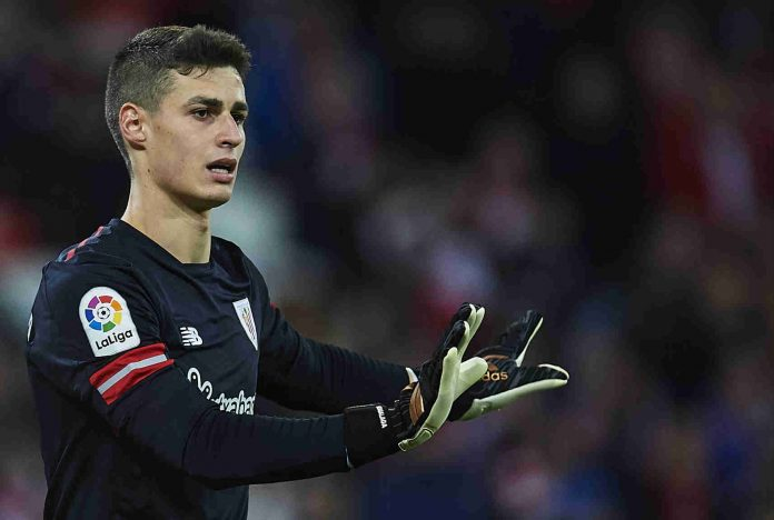 Kepa Arrizabalaga Real Madrid